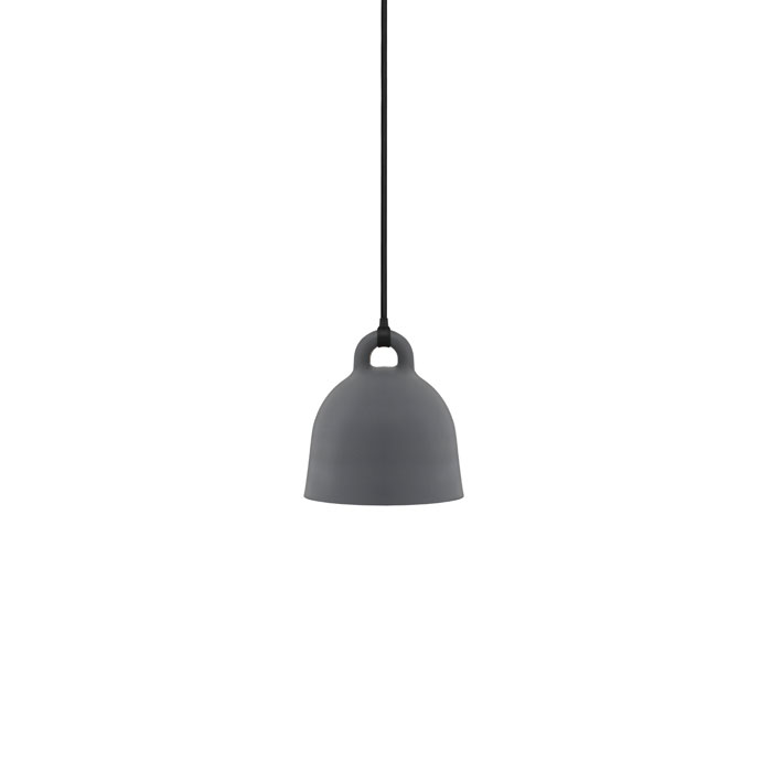 Bell Lamp , X-small grey